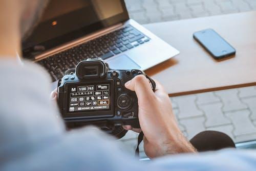 Fotoutrustning för foton och videos på barnen